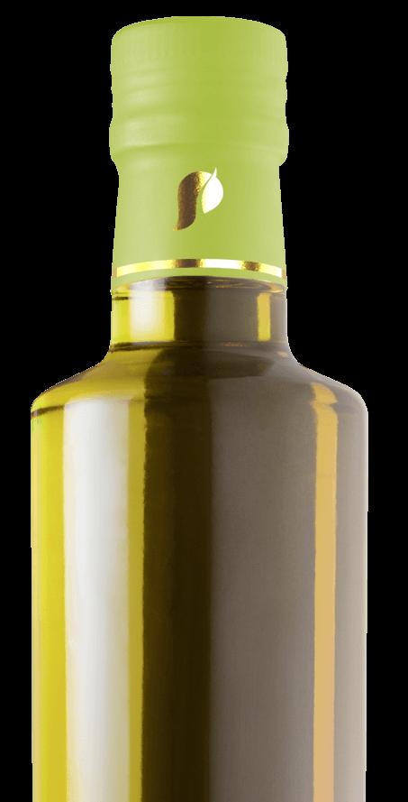 capsula para garrafas de azeite em PLA