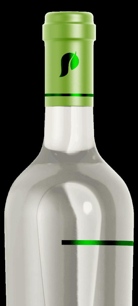 capsula para garrafas de vinho em PLA