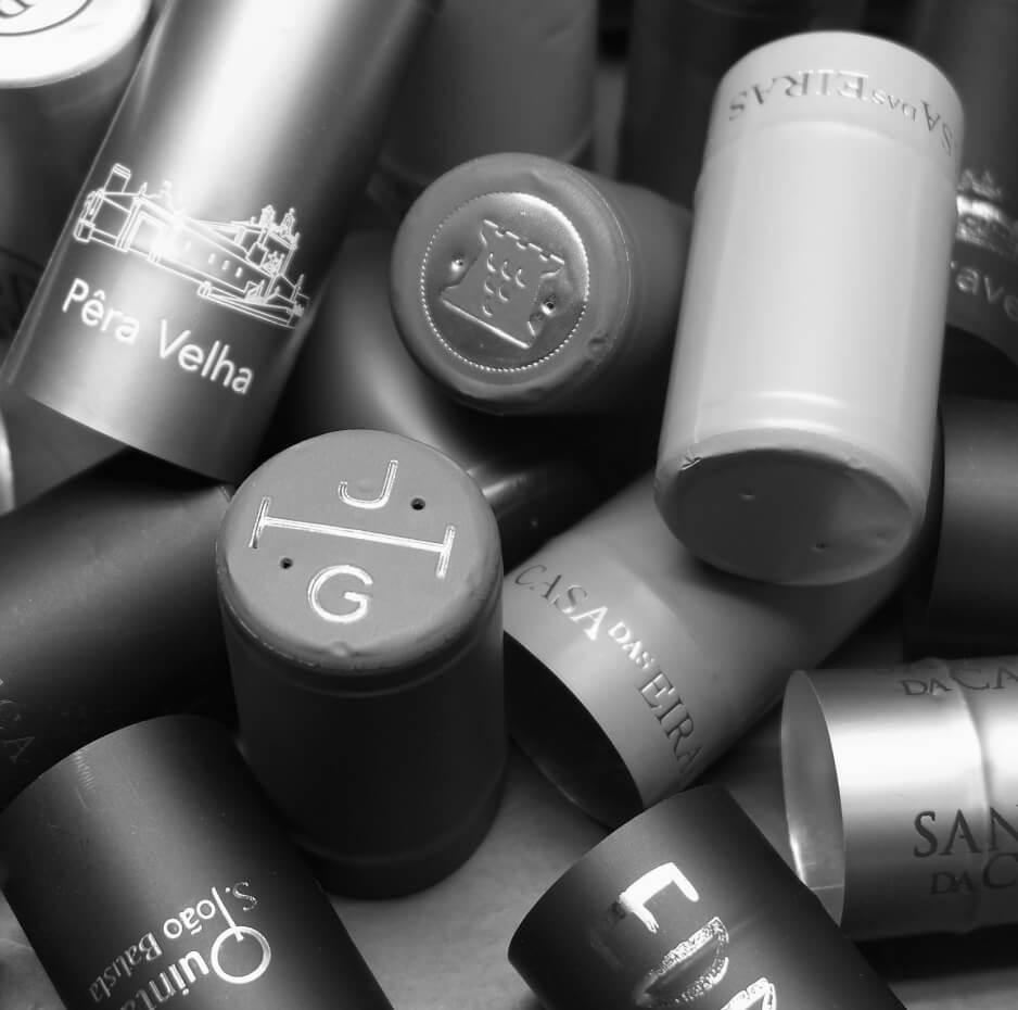 capsulas para garrafas de vinho ALC PET PVC PLA